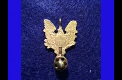 MEDALLION-EAGLE PENDANT 2mm Pinfire Guns USA
